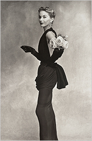 Irving Penn's Woman With Roses