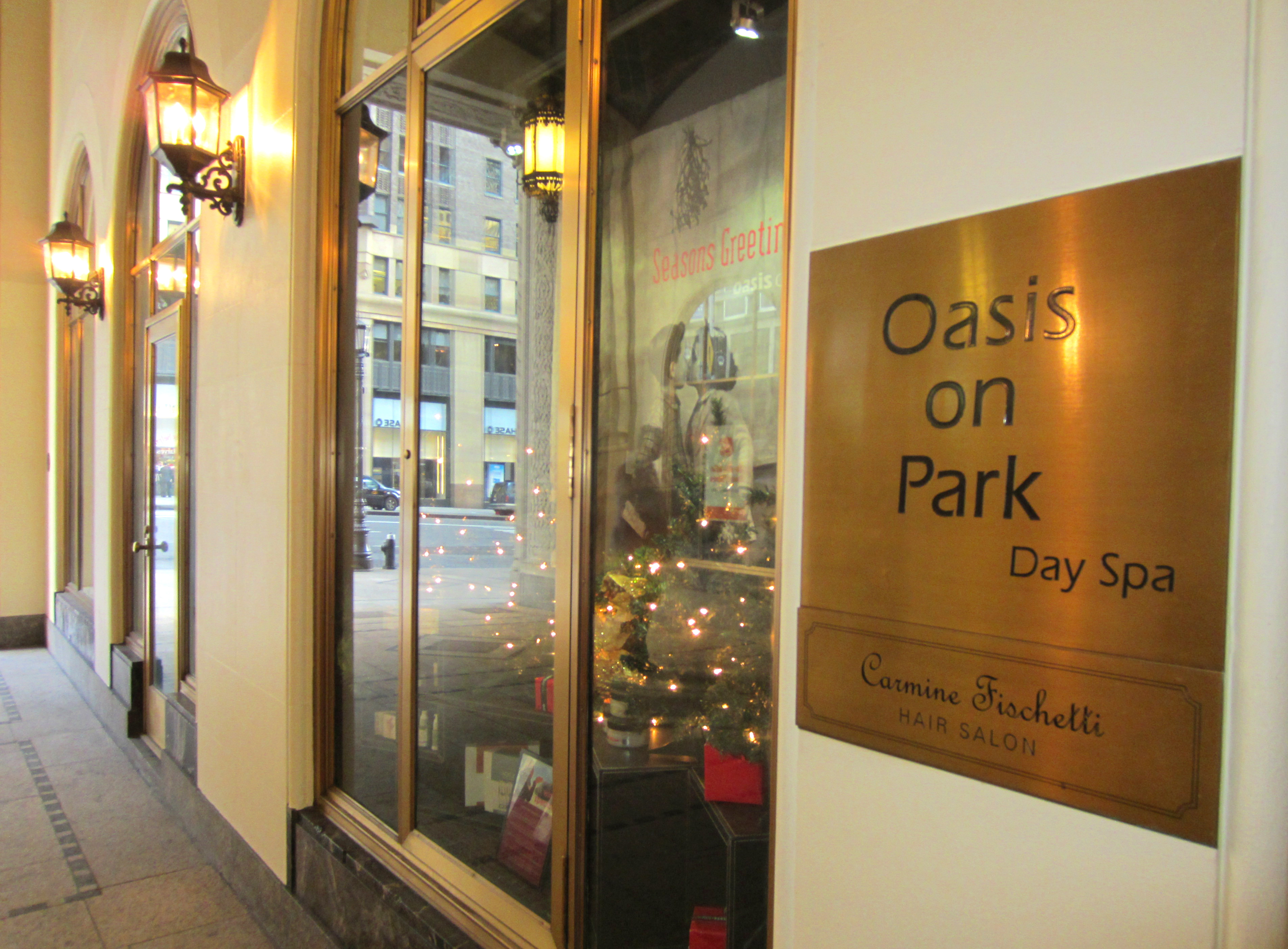 Oasis Day spa New York sights