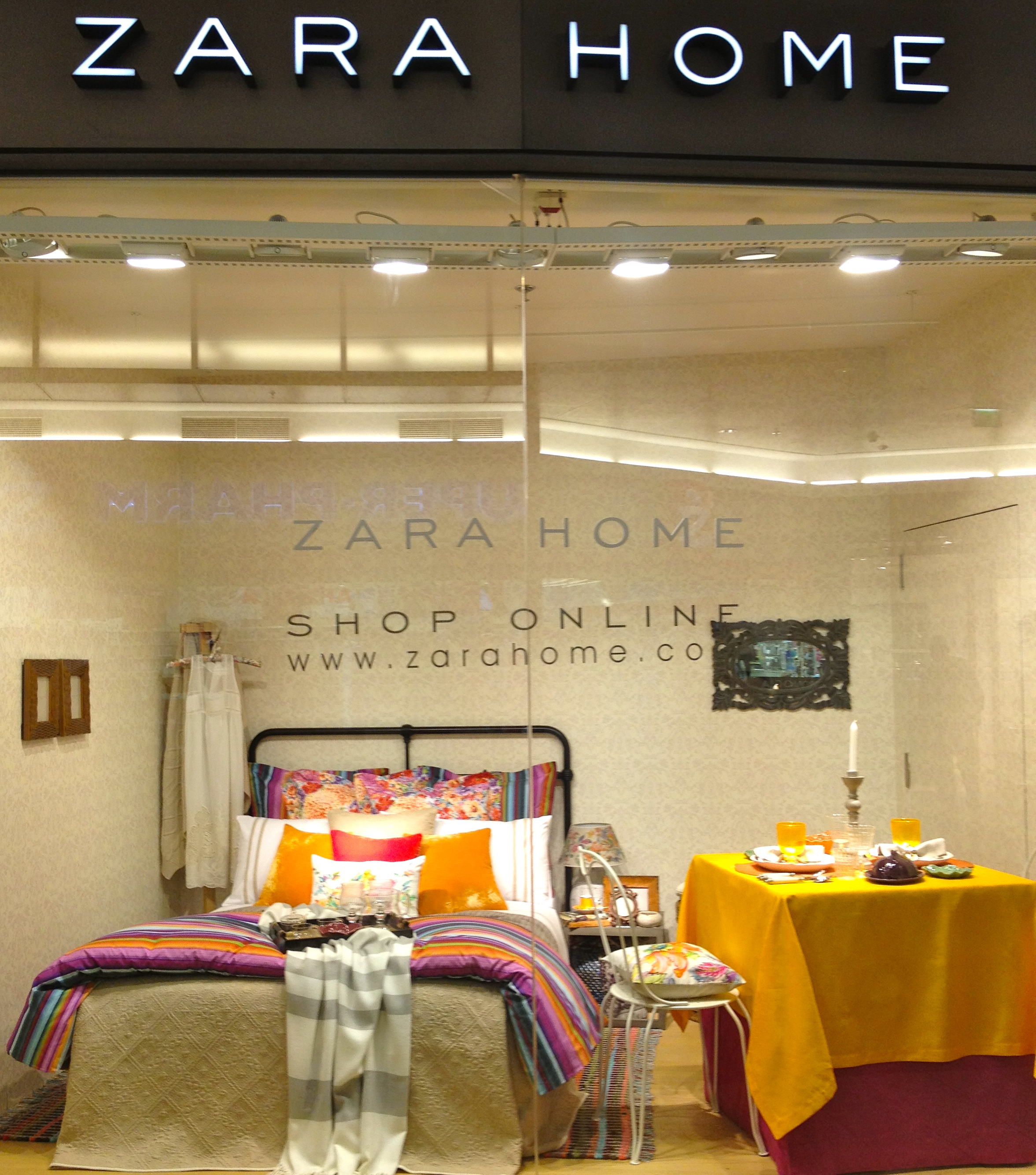 This Month Zara Home Debuted In The US Online! The Product Range Features  Home Textiles: Bed, Bath And Table Linens, In Addition To Select Furniture,  ...