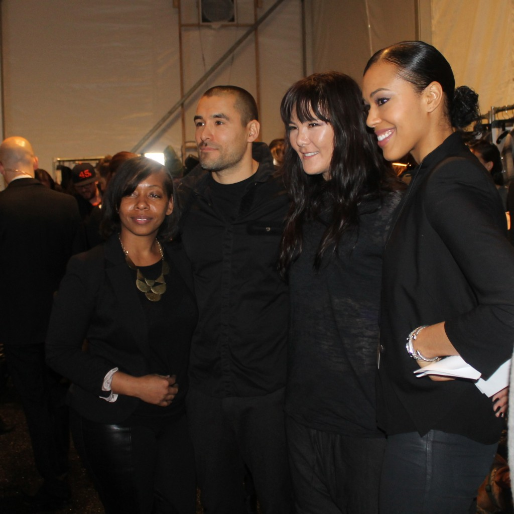 Backstage with Nicholas K designers, Chris &amp; Nicholas Kunz