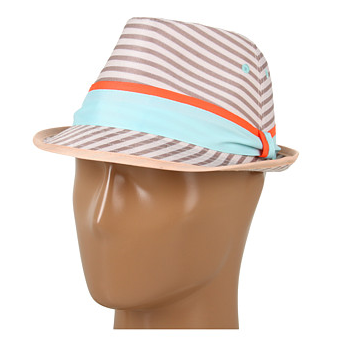 BGgeneration striped fedora